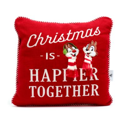 Disney Store Mickey and Friends Walt's Holiday Lodge Cushion