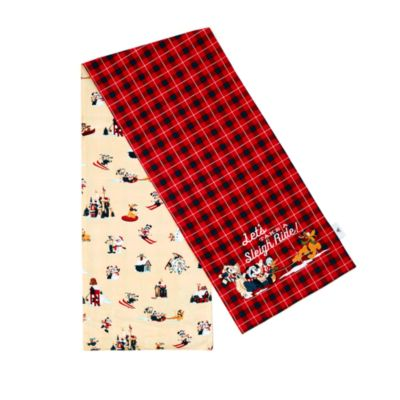 Disney Store Mickey and Friends Table Runner, Walt's Holiday Lodge