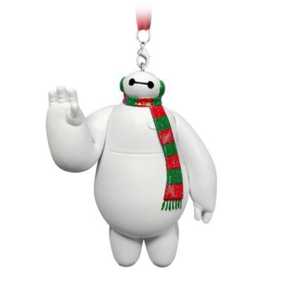 Disney Parks Baymax Festive Hanging Ornament