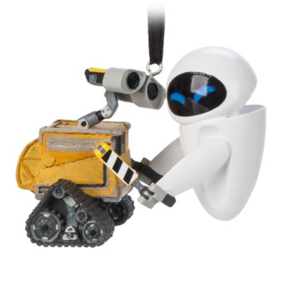 Disney Parks WALL-E and EVE Hanging Ornament