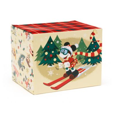 Disney Store Mickey and Friends Walt's Holiday Lodge Mug Box