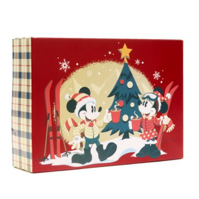 Disney Store Mickey and Friends Walt's Holiday Lodge Gift Box, Small