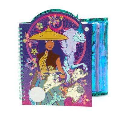 Disney Store Cahier d'activités effaçable Raya et le dernier dragon