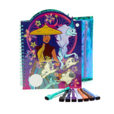 Cuadernos artístico borrable Raya y el Último Dragón, Disney Store