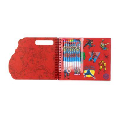 Cuaderno actividades Marvel, Disney Store
