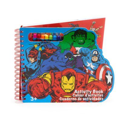 Disney Store Livre d'activités Marvel