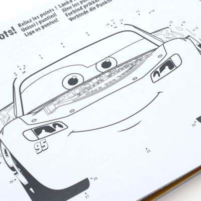 Disney Store - Disney Pixar Cars - Spielbuch