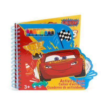Cuaderno actividades Disney Pixar Cars, Disney Store