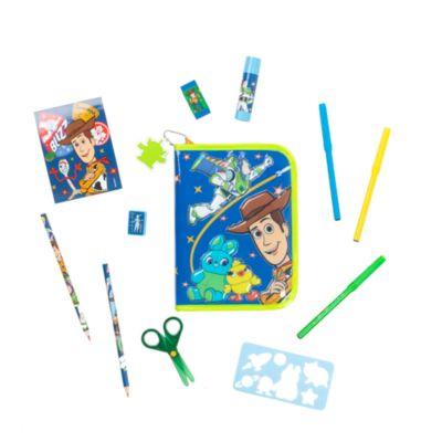 Disney Store Toy Story 4 Zip-Up Stationery Kit