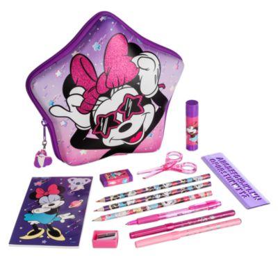 Disney Store Kit de fournitures Minnie zippé