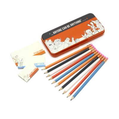 Lata para lápices y notas adhesivas Zootrópolis, Disney Store
