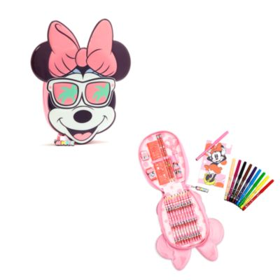 Estuche artículos papelería con cremallera Minnie Mouse, Disney Store