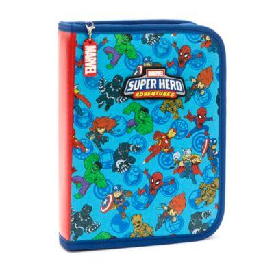 Disney Store Marvel Zip-Up Stationery Kit