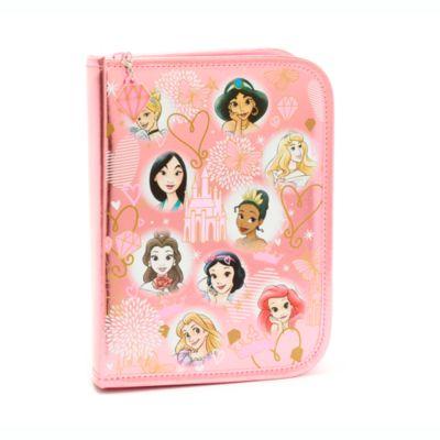 Estuche papelería con cremallera princesas Disney, Disney Store