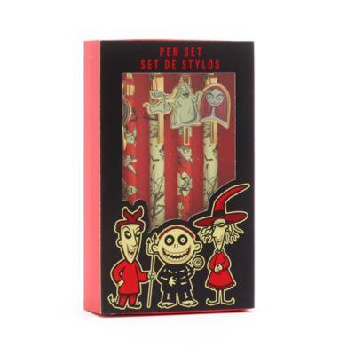 Disney Store Lot de 4stylos L'Étrange Noël de Monsieur Jack