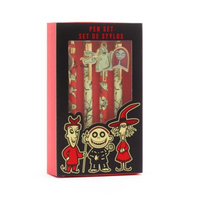 Disney Store The Nightmare Before Christmas Pens, Set of 4