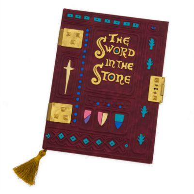 Taccuino A4 Replica del libro La Spada nella Roccia Disney Store