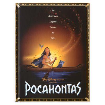 Diario póster película Pocahontas, Disney Store