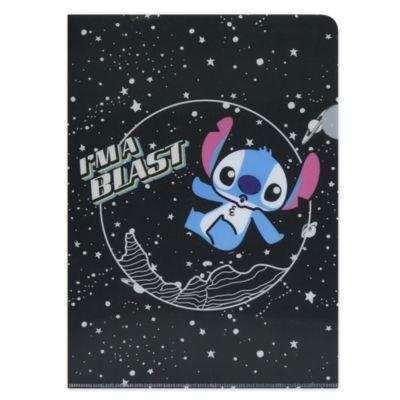 Disney Store Ensemble Cahier et chemise Stitch