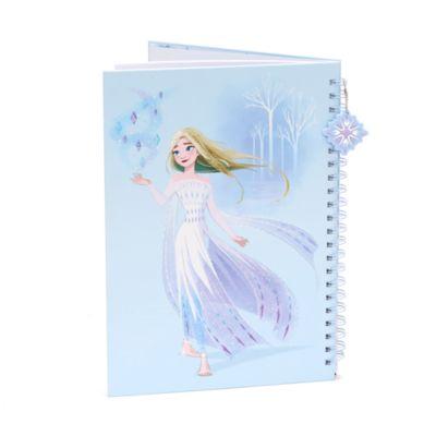 Disney Store Anna and Elsa A4 Notebook, Frozen 2