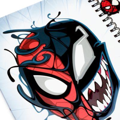 Disney Store - Spider-Man und Venom - A4-Notizbuch