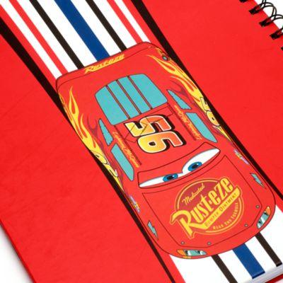 Disney Store - Disney Pixar Cars - Lightning McQueen - A4 Notizbuch