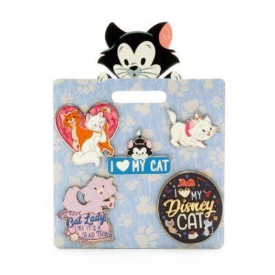 Disney Store Disney Ensemble de pin's Les chats de Disney Store