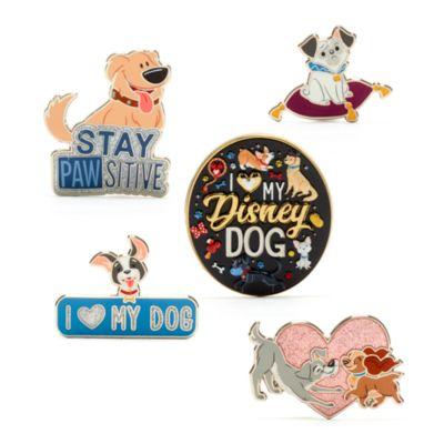 Disney Store - Disney Hunde - Anstecknadelset