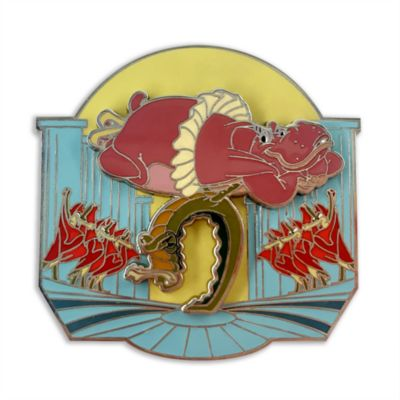 Disney Store - Fantasia - Hyacinth Hippo und Alligatoren Anstecknadel