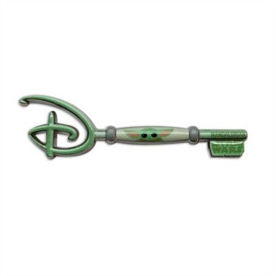 Disney Store - Star Wars - Grogu - Anstecknadel mit Eröffnungszeremonie-Schlüssel