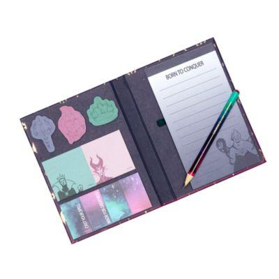 Disney Store Disney Villains Notebook and Sticky Notes Set