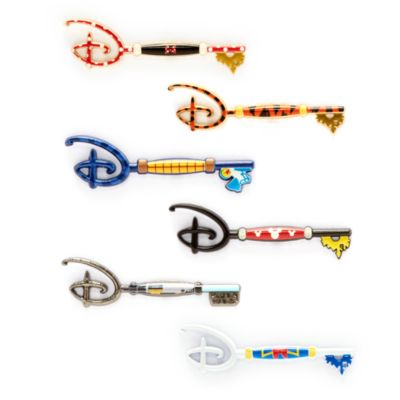 Pin llave misterioso coleccionable, Disney Store