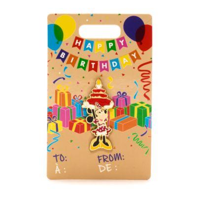 Disney Store Pin's Anniversaire avec Minnie