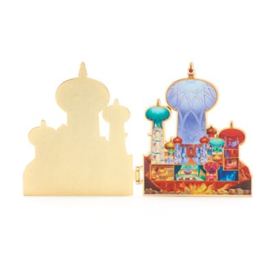 Pin Castle Collection Principessa Jasmine Disney Store, 7 di 10