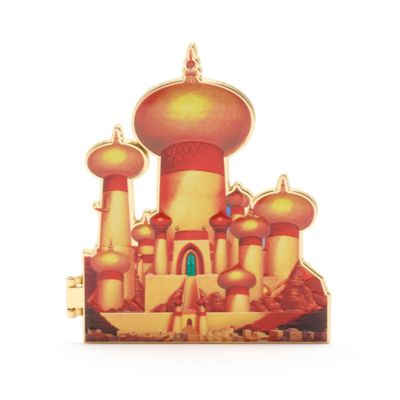 Pin princesa Jasmine, colección Castle, Disney Store (7 de 10)