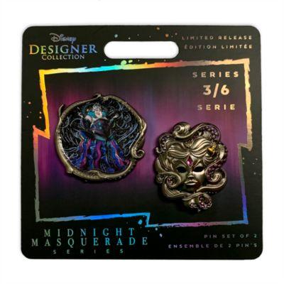 Disney Store - Ursula - Disney Designer Collection - Anstecknadelset