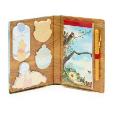 Disney Store Carnet et bloc de feuilles adhésives Winnie l'Ourson et l'Arbre à miel