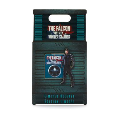 Pin Winter Soldier The Falcon and The Winter Soldier Disney Store