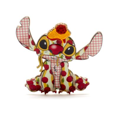 Disney Store Lady and the Tramp Stitch Crashes Disney Jumbo Pin, 2 of 12