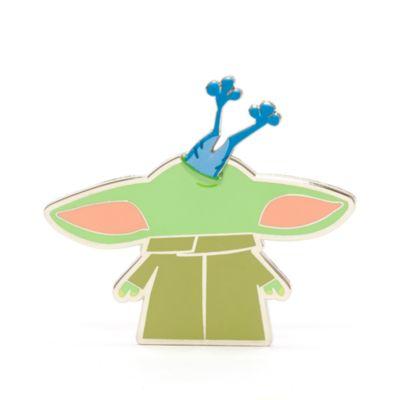 Disney Store Grogu with Sorgan Frog Pin, Star Wars: The Mandalorian