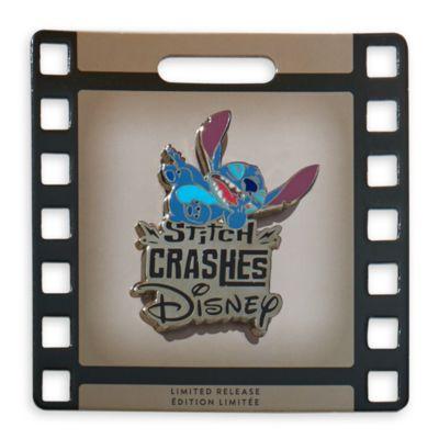 Disney Store - Stitch Crashes - Disney Anstecknadel-Sammelbuch