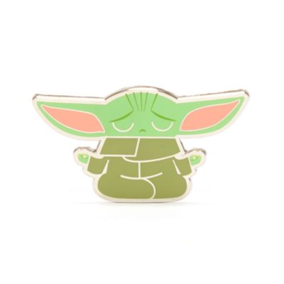 Disney Store Grogu Zen Pin, Star Wars: The Mandalorian