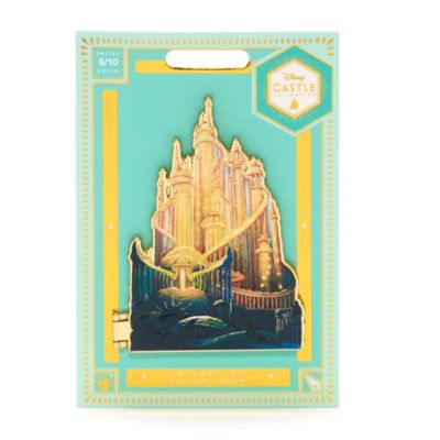 Disney Store Ariel Castle Collection Pin, 8 of 10