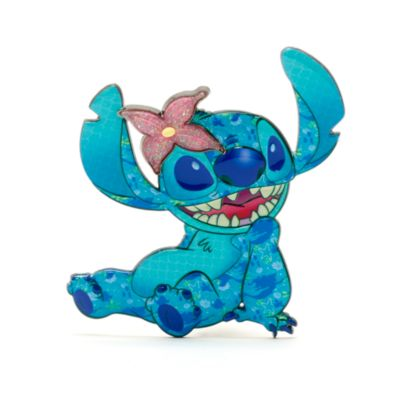Disney Store The Little Mermaid Stitch Crashes Disney Jumbo Pin, 4 of 12