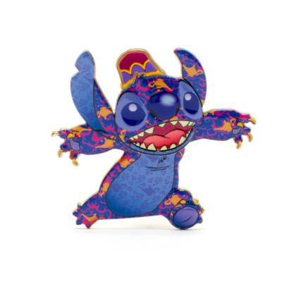 Pin grande Aladdín, Stitch Crashes Disney, Disney Store (6 de 12)