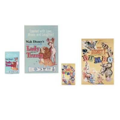 Disney Store Coffret de pin's Disney Classics Poster, 1sur 2