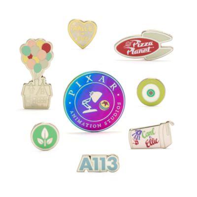 Set di pin World of Pixar Disney Store