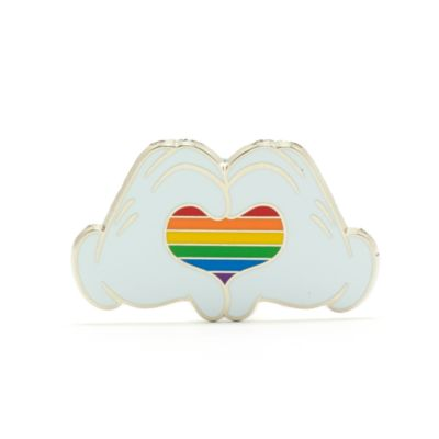 Walt Disney World Pin's Coeur arc-en-ciel Mickey, Rainbow Disney