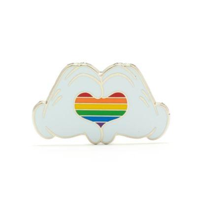 Walt Disney World - Rainbow Disney - Micky Maus - Regenbogen-Anstecknadel