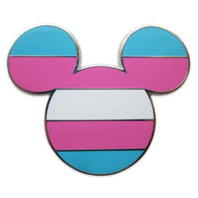 Pin bandiera transgender Topolino Disney Store